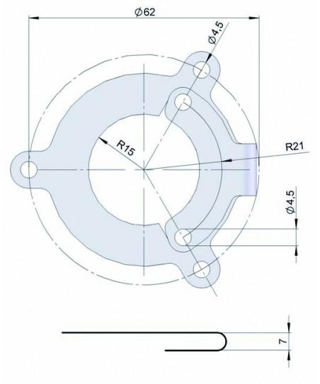 Sistema antigiro flexible 90.1014