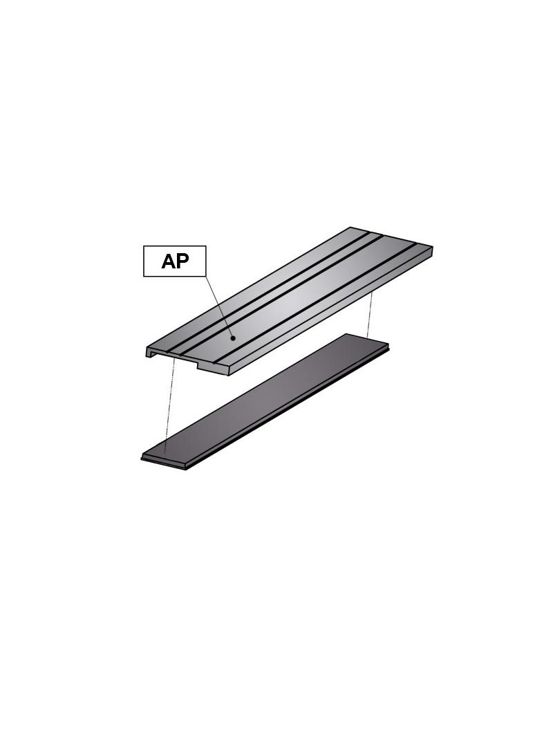 Banda Magnética CSMA + Soporte de Aluminio AP