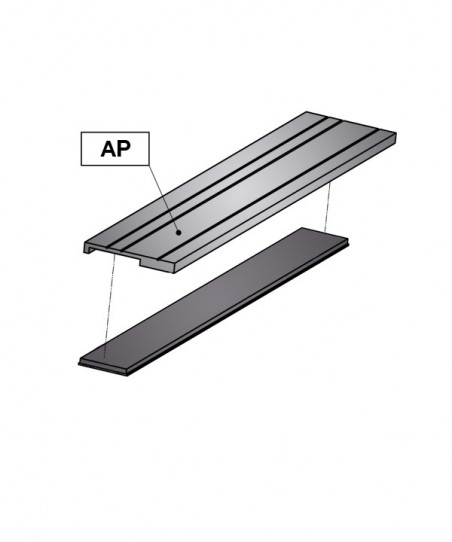 Magnetic Band CSMA + Aluminium Support AP