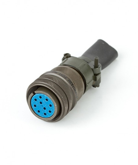 Female connector 10p 90.9510